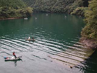 レンタル 七色 ボート ダム